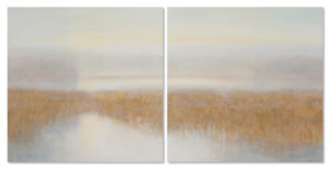 Alewife Pond - landscapes - diptychs