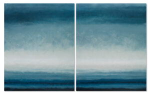 landscapes diptych